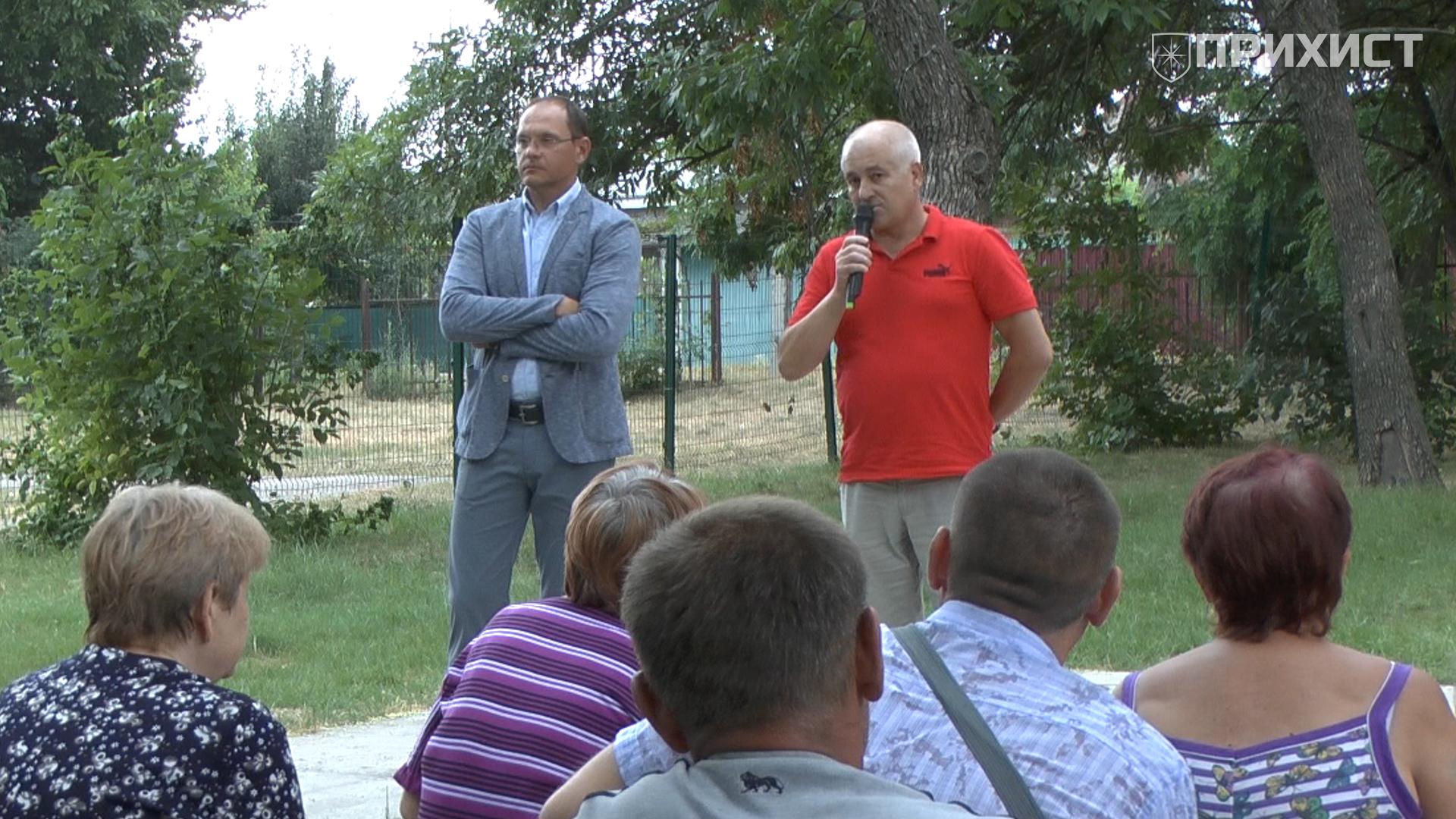 Встреча областного депутата с избирателями: детский сад, аптека и дороги | Прихист