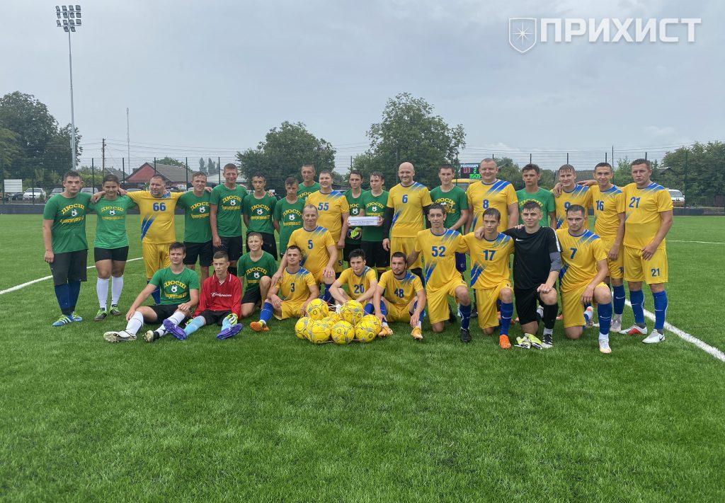 На новому стадіоні в Придніпровському зіграли перший матч | Прихист