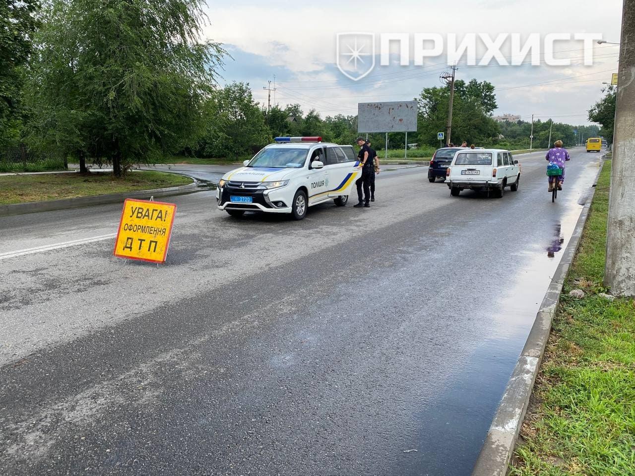 На улице Херсонской произошло сразу два ДТП | Прихист