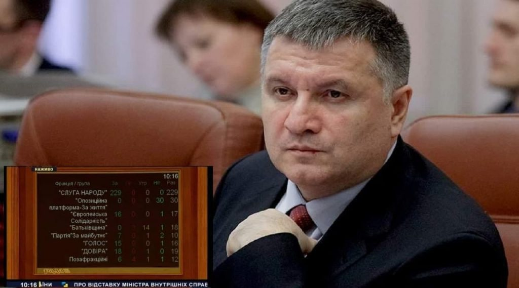 Рада отправила Авакова в отставку | Прихист
