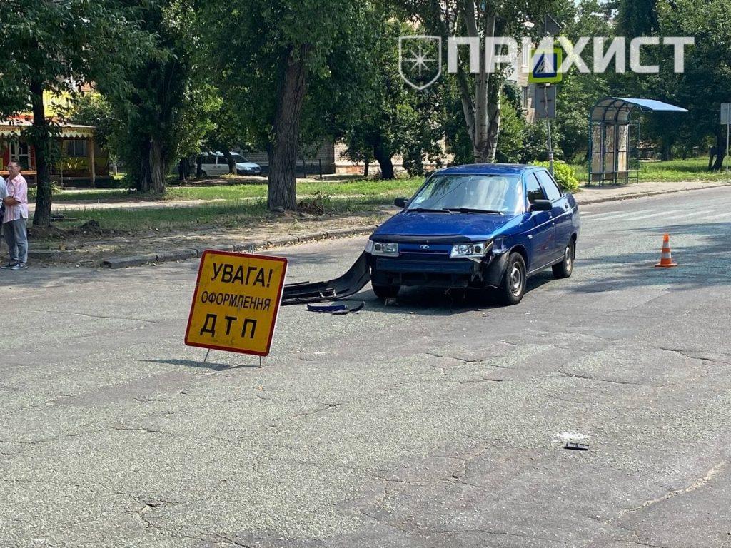 """На ул. Патриотов Украины столкнулись ВАЗ-2110 и """"Таврия""""   Прихист"""