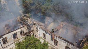 """""""Це була одна з найкрасивіших будівель старого Нікополя"""": місто втратило у полум'ї ще одну історичну пам'ятку"""