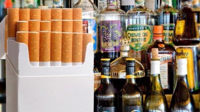 В Украине подорожают сигареты и алкоголь   Прихист