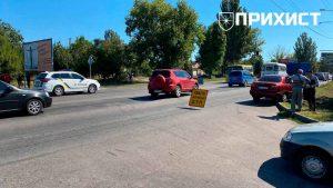 ДТП на ул. Херсонской: врезались два «Ланоса» | Прихист