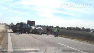 На трассе Запорожье-Днепр крупное ДТП: столкнулось 5 машин | Прихист
