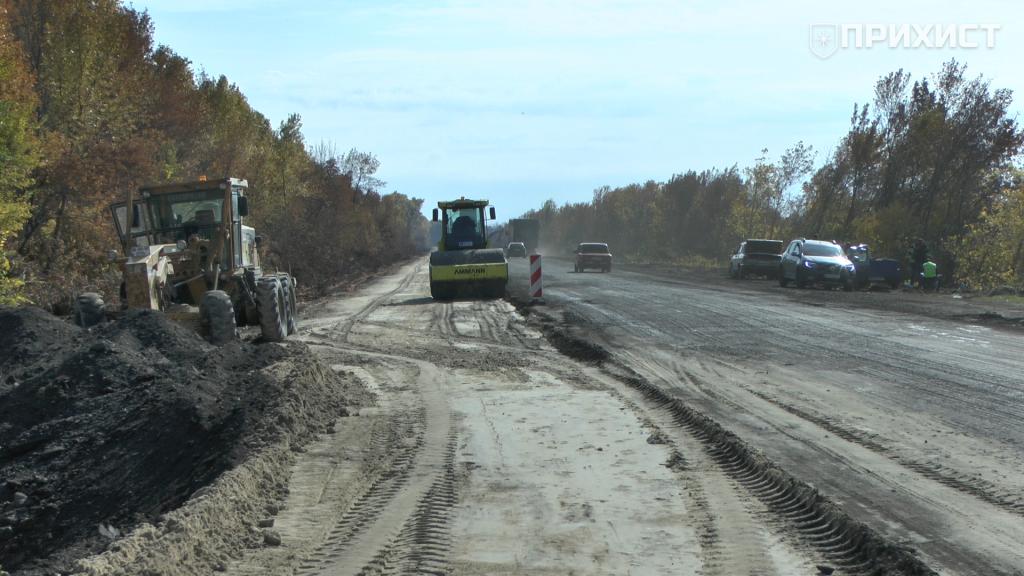 У Дніпропетровській області продовжують ремонт траси Н-23 на криворізькому напрямі | Прихист
