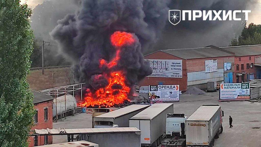 За «горбатым» мостом пожар   Прихист