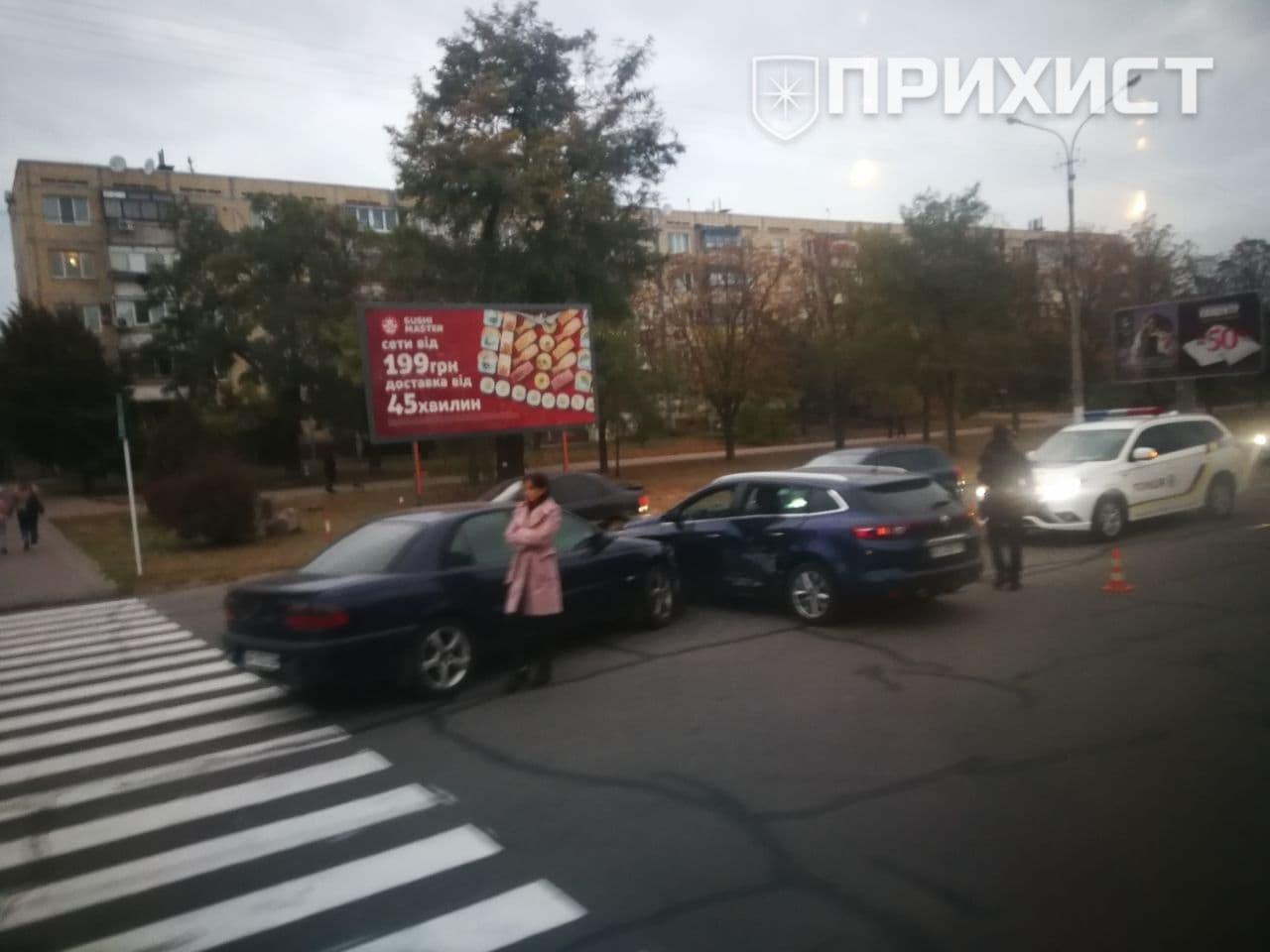 На ул. Первомайской столкнулись Opel и Volkswagen | Прихист