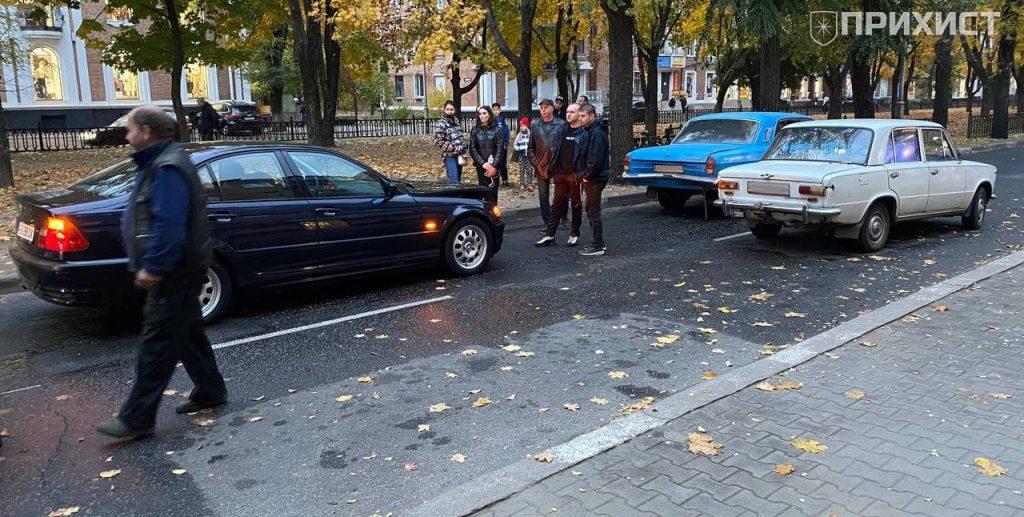 Дтп с участием 3 автомобилей   Прихист